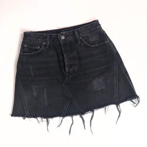 GRLFRND Denim Skirt Size 26